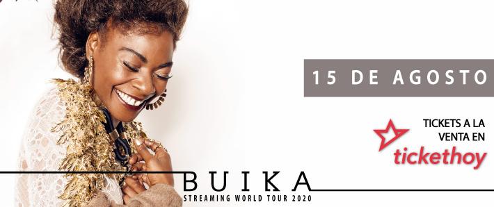 Buika Streaming World Tour 2020 | España y resto de Europa