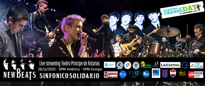 NEW BEATS SINFONICO SOLIDARIO - PLAYING FOR CHANGE DAY ROSARIO 2020